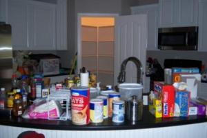 Empty Pantry = Messy Kitchen