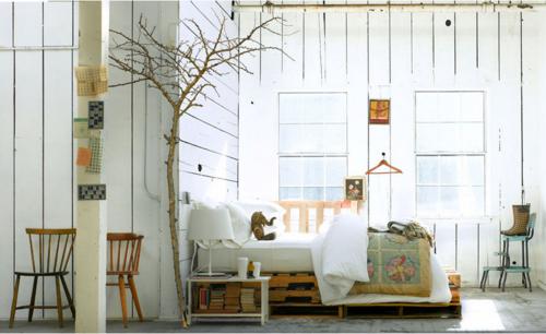 Nature decor bedroom